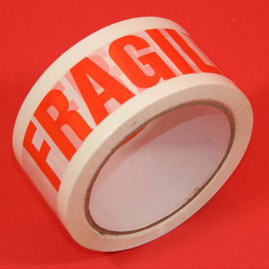 Printed Warning Tape-Fragile-Packing Material